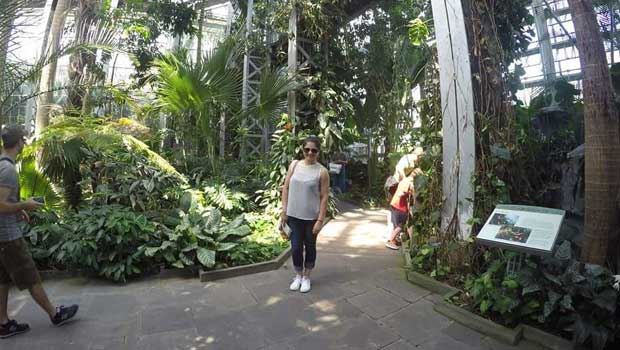 Visiting the Botanic Gardens