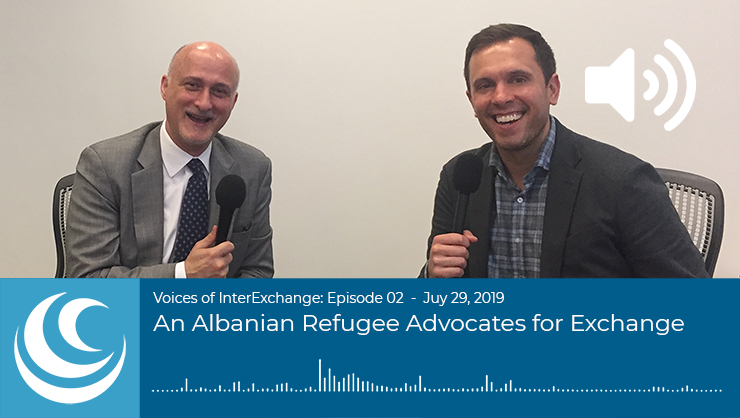 An Albanian Refugee Advocates for Exchange
