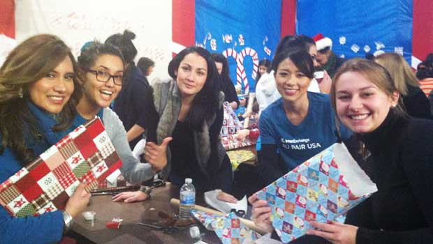 Wrapping Presents for a Good Cause