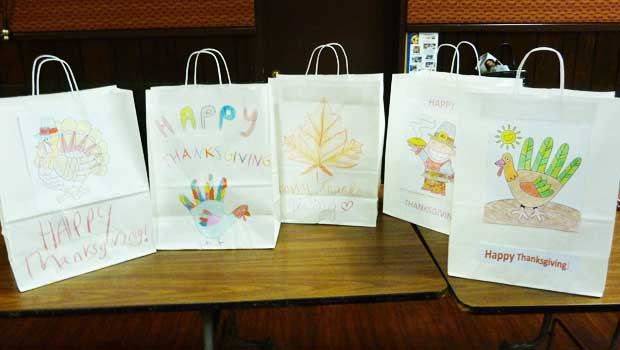 Decorated bags