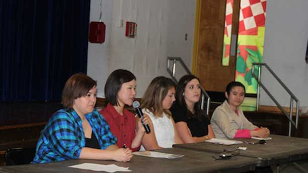 Fairfield County Au Pairs Share Culture With Elementary Students in Stamford