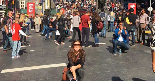 Maricel in Times Square