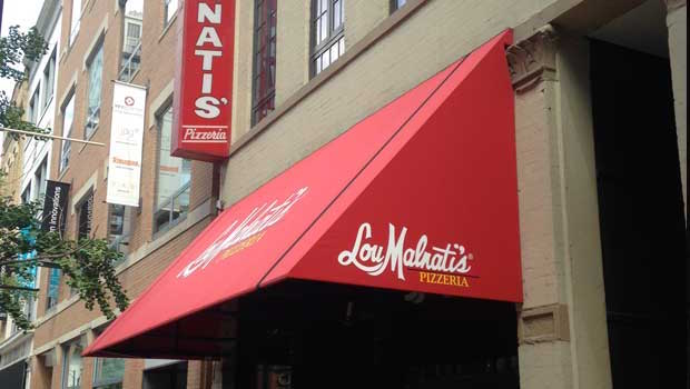 Lou Malnati's, home of the deep dish pizza!