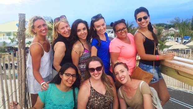 Jersey Girls: New Jersey Au Pairs Visit Long Beach Island