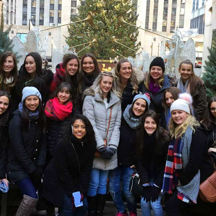 New York City is our au pairs' first stop in the USA.