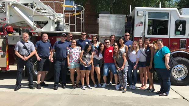 Our cluster had a great time visiting the Raleigh Fire Department!