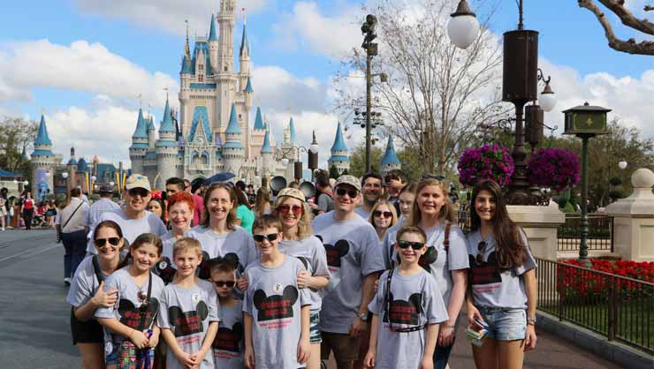 Au Pairs Head to Disney World in Orlando, Florida