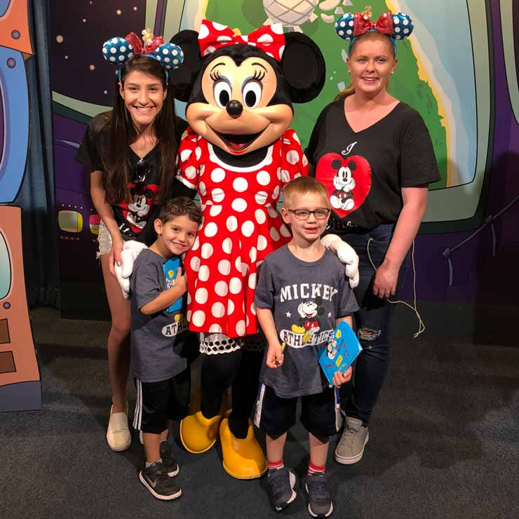 Au pair Cliona and au pair Brenda loved exploring Disney World.
