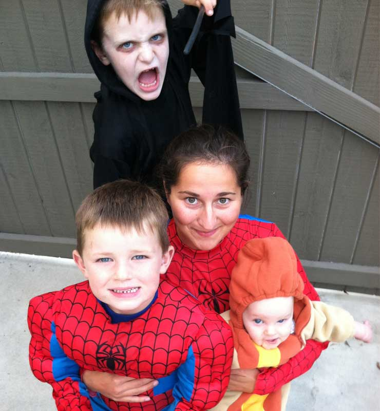 Ask your au pair how they want to celebrate Halloween.