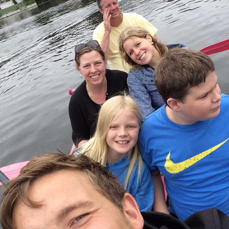 A canoe trip in Hamburg.