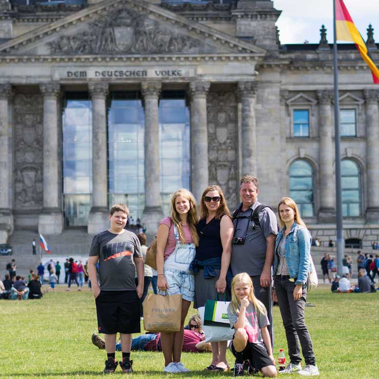 The group in Berlin.