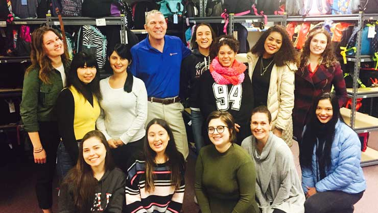 InterExchange au pairs with Rob, the founder of Comfort Cases.