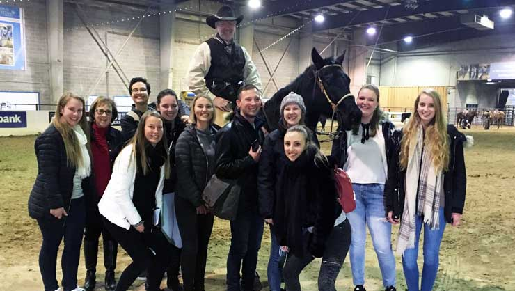 Denver area au pairs loved seeing the rodeo.