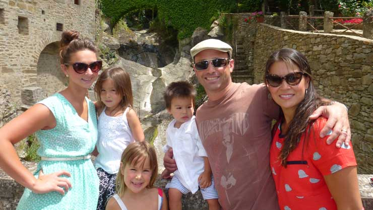 Many of our host families travel with their au pair.