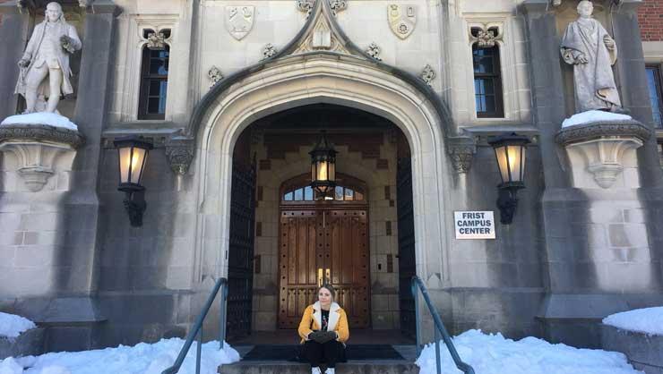 Simone has explored many areas including Princeton University.