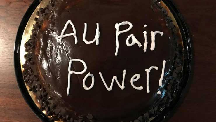 What's sweeter than an au pair cake?