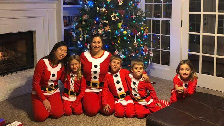 Nothing says Christmas like matching pajamas!