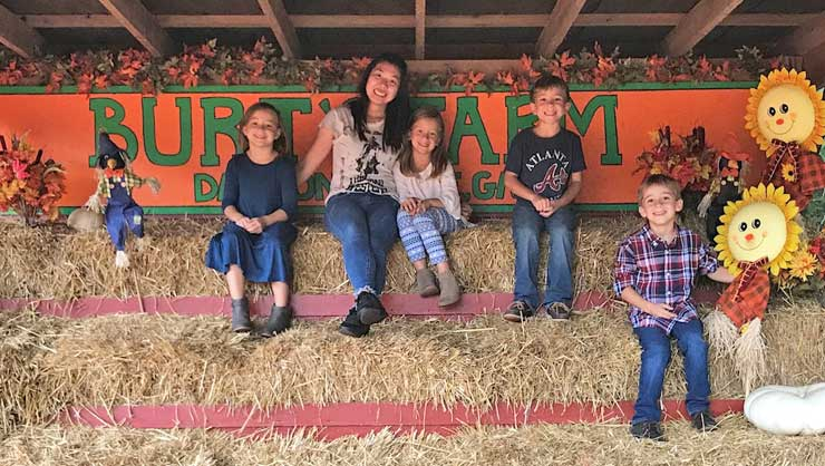 Au pair Karime and her host kids have shared a ton of adventures.