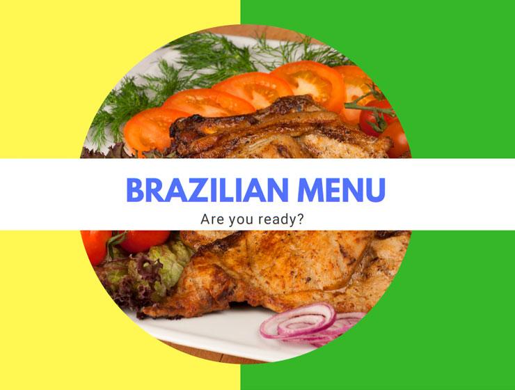 Brazilian Menu