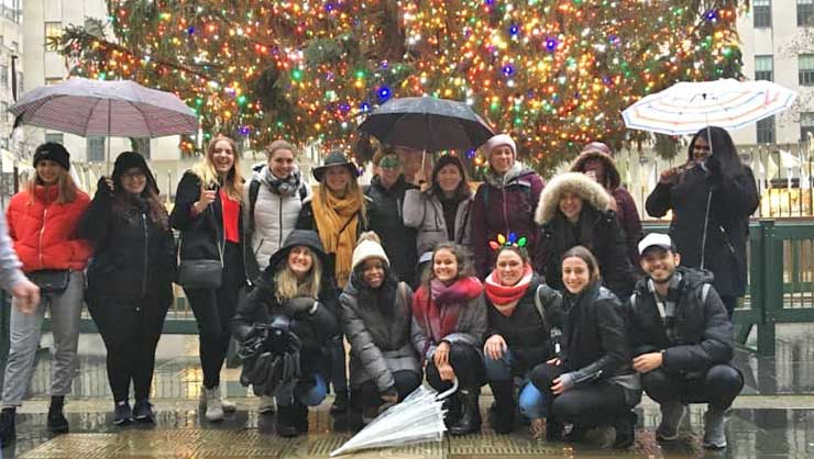 What Did InterExchange Au Pairs Do In December?