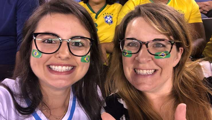Brazilian Au Pair Larissa Brings Balance To Her Host Family
