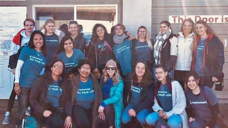 The Eastside Seattle cluster had a blast volunteering.