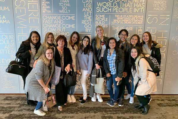 Au Pairs Soak Up American Traditions at Their March Cluster Meetings