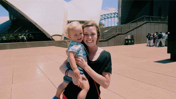 InterExchange Au Pair Hope at the Sydney Opera House