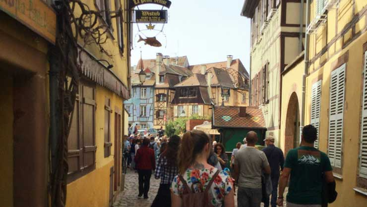 Wandering in Colmar, France