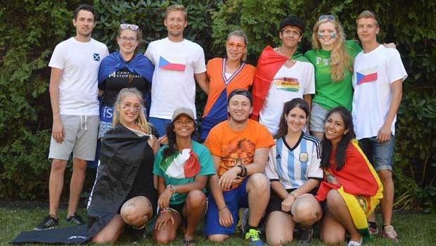 International Day at Camp Stonewall