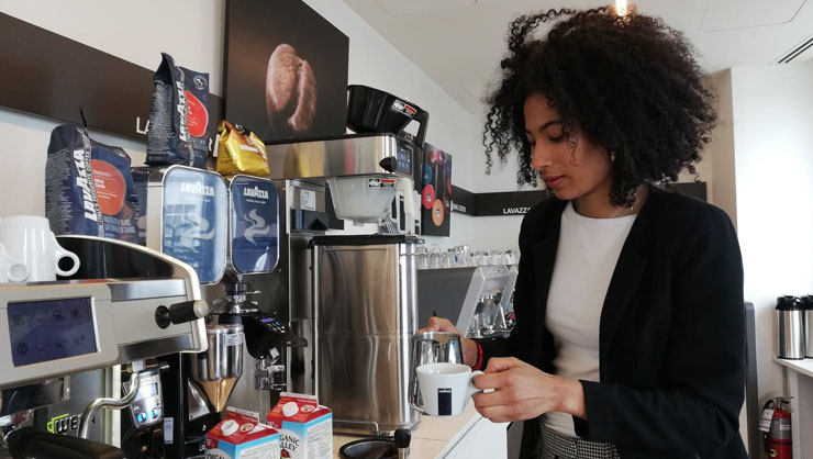 From Student Hostess to Business Intern in the Coffee Industry