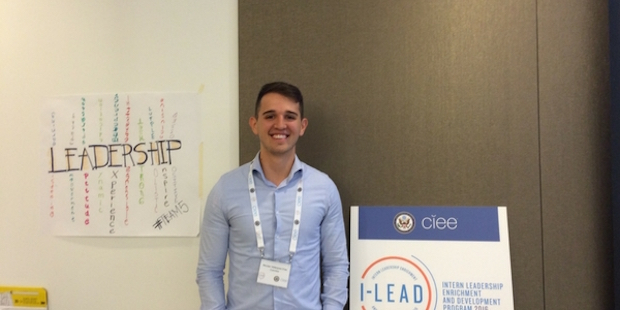 InterExchange intern, Nicolas at I-LEAD Seattle