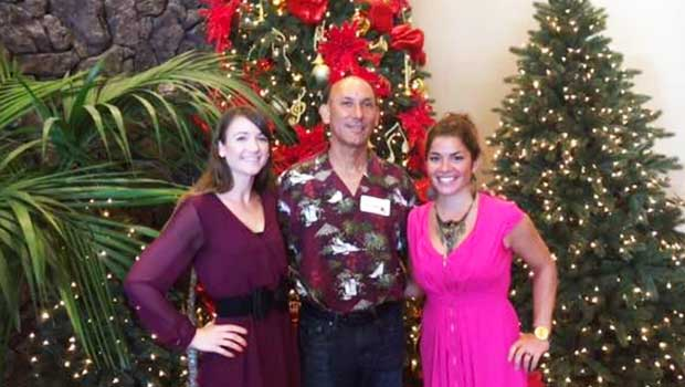 Marion experienced a Hawaiian Christmas with her employers!