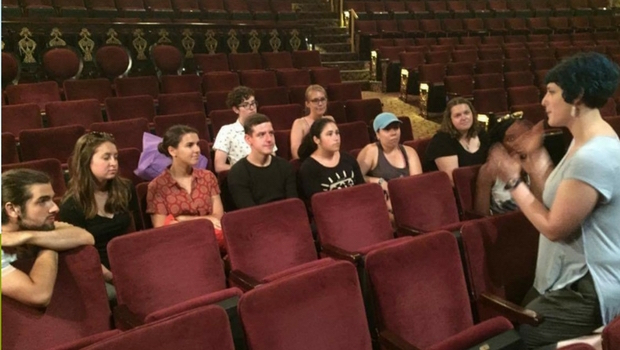 Ryan's Internship at the Public Theater in NYC