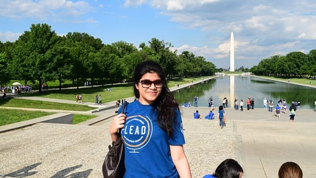 Surabhi visited the Washington Monument.