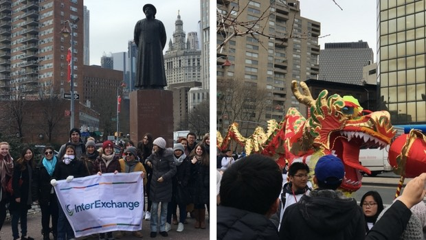 InterExchange goes to the Lunar New Year Parade in NYC!