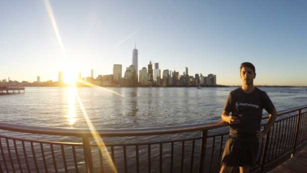 Mauro loved the New York City skyline!