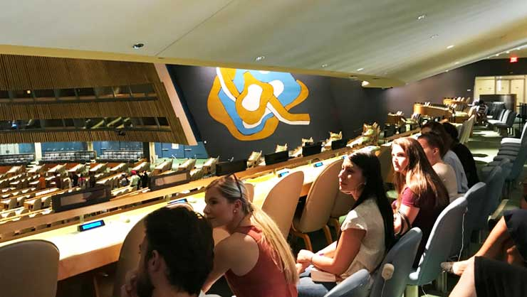 InterExchange participants tour the UN!