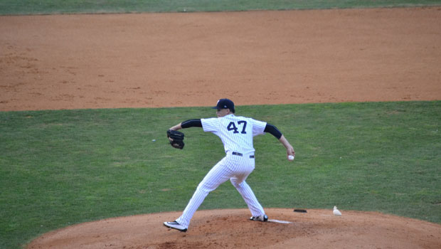 Staten Island Yankees Pitcher, Freicer Perez