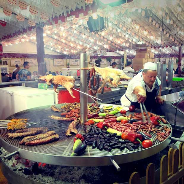 Food and culture come alive at the feria!