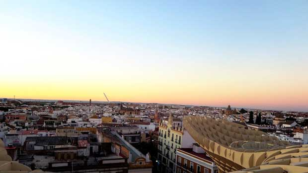 Views of beautiful Sevilla from above!
