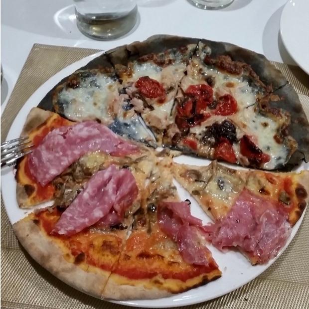 Delicious Italian pizza!
