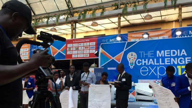 The first Media Challenge Expo