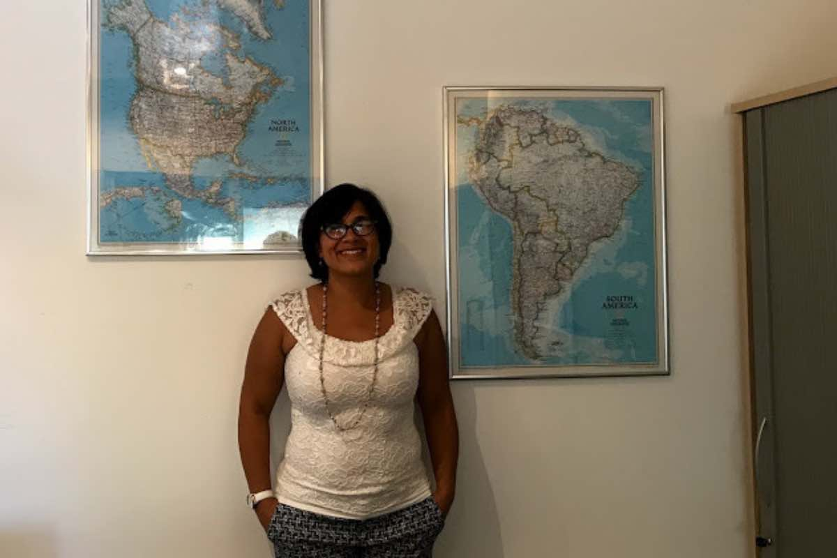 At my last day of work at the Inter-American Institute for Global Change Research