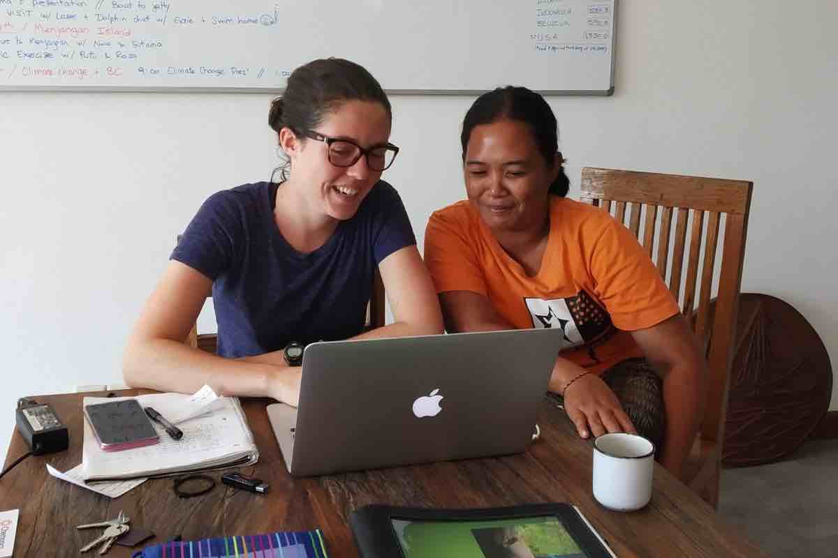Translating education materials with Putu Getha