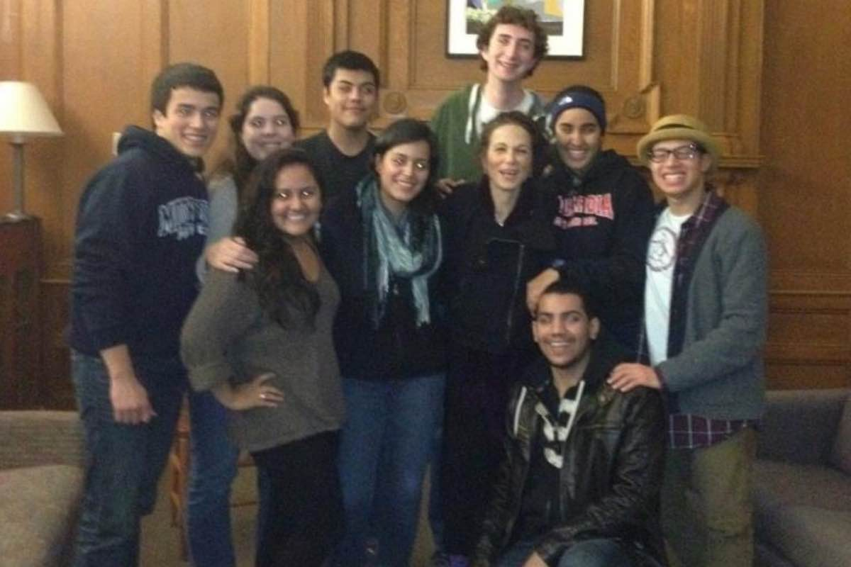 Meeting Julia Alvarez as a student at Middlebury College