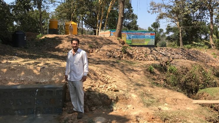 Christianson Fellow Helps 300 Indian Villagers Access Clean Water