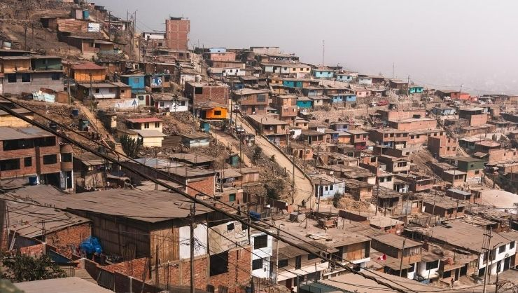 The community of Lima Norte in Peru
