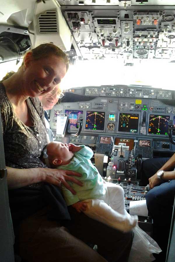 Tauryn's baby's first trip
