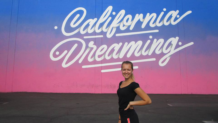California Dreaming mural